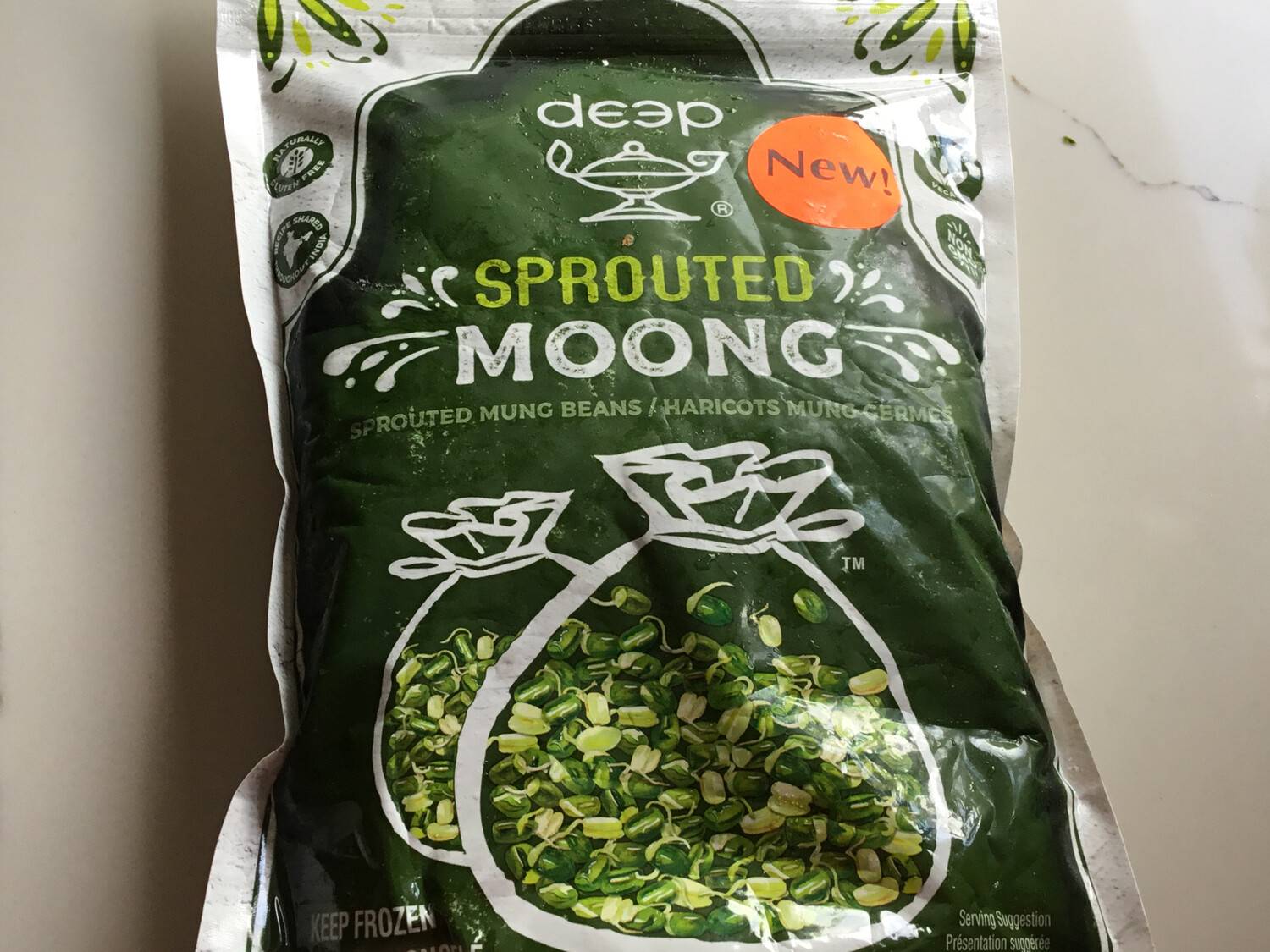 DEEP SPROUT MOONG 454 G