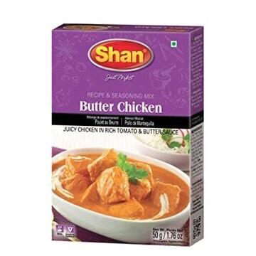 SHAN BUTTER CHICKEN MASALA 50 G