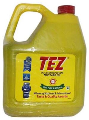 TEZ  MUSTARD OIL 4.7LT