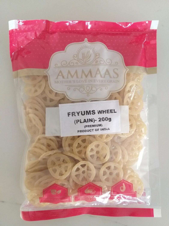 AMMA'S  FRYUMS WHEEL PLAIN 200G