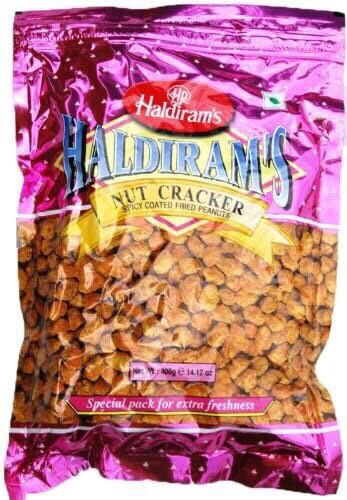 HALDIRAMS NUT (PEANUT) CRACKER 400 GMS BUY 3 FOR $11.99