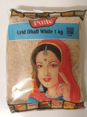 PATTU URID SPLIT WHITE 1KG