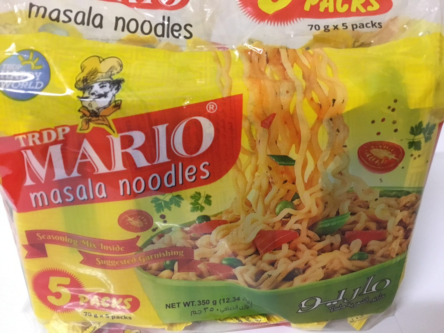 MARIO MASALA NOODLES (70 G*5 PACKS)