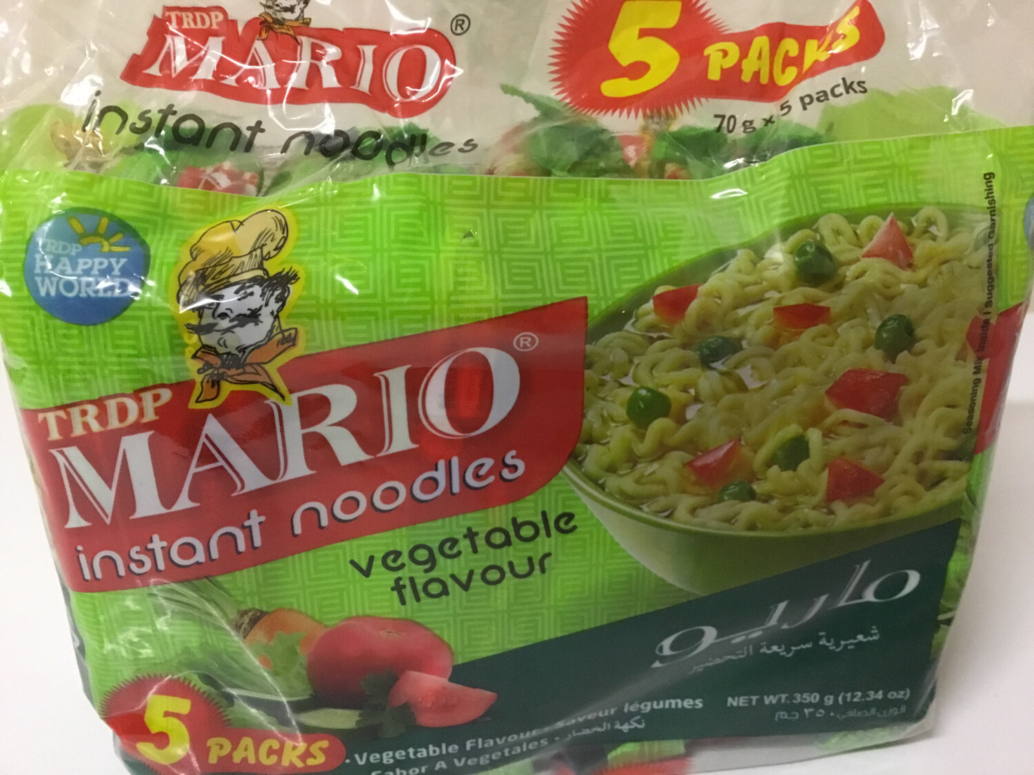 MARIO VEG NOODLES (70 G*5 PACKS)