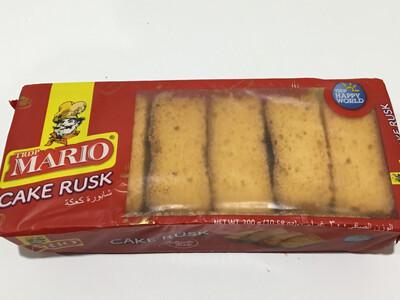 MARIO CAKE RUSK 300 G