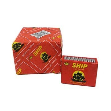 SHIP MATCHBOX × 10