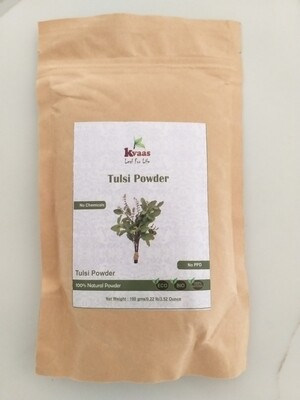 TULSI POWDER 100 GMS 100% Chemical Free