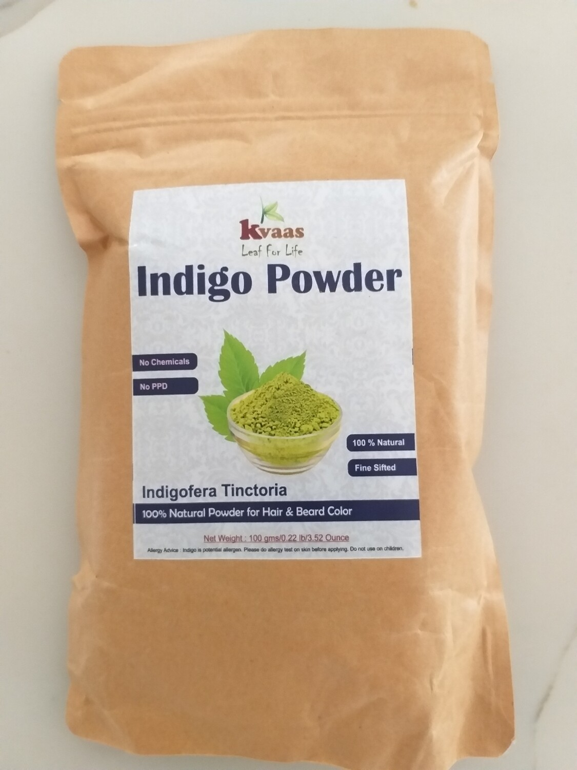 INDIGO POWDER 100 GMS 100% Chemical Free
