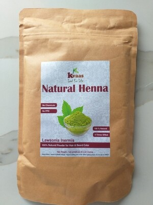 NATURAL HENNA 100 GMS 100% Chemical Free