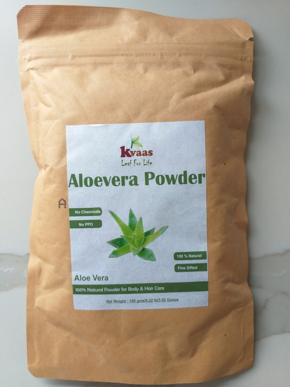 ALOEVERA POWDER 100 GMS 100% Chemical Free