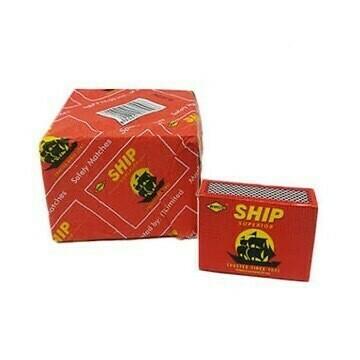 SHIP MATCHBOX