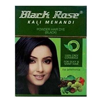 BLACK ROSE KALI MEHENDI 50 G