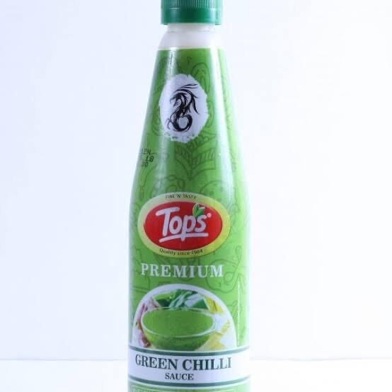 TOPS GREEN CHILLI SAUCE 1.15 GMS
