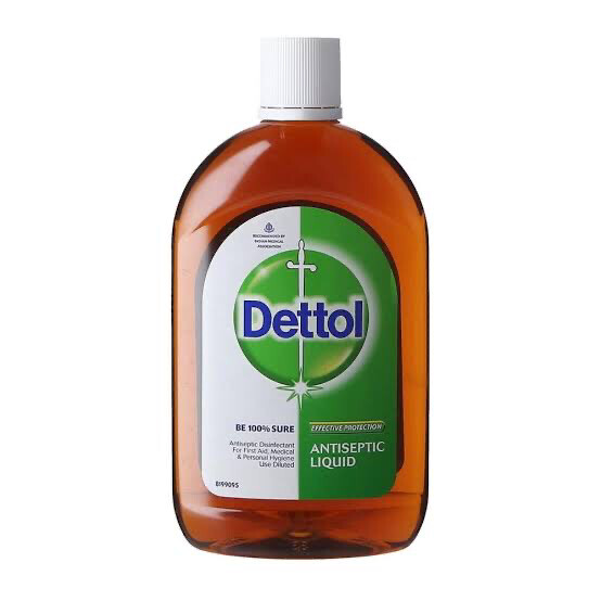 DETTOL ANTISPECTIC LIQUID 550 ML