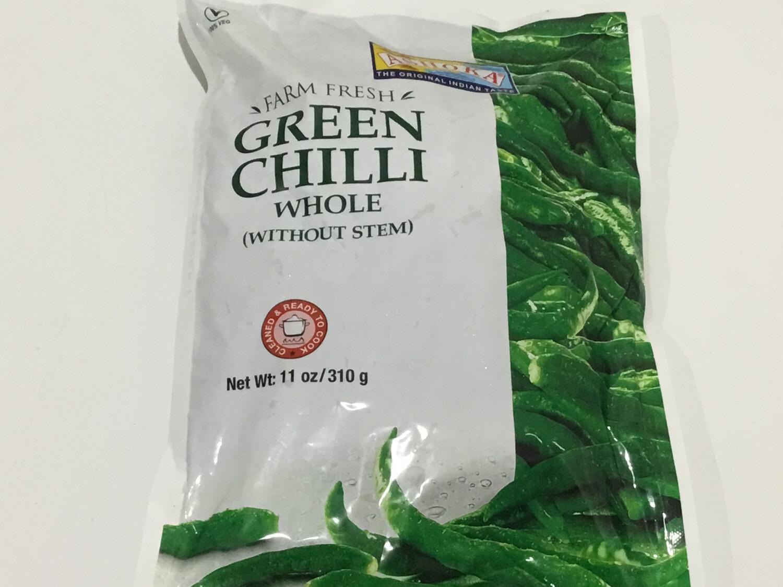 ASHOKA GREEN CHILLIES 310 G
