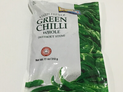 ASHOKA GREEN CHILLIES 310 G