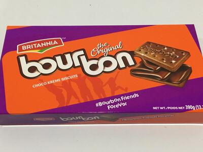 BRITANNIA BOURBON BISCUITS 390 G