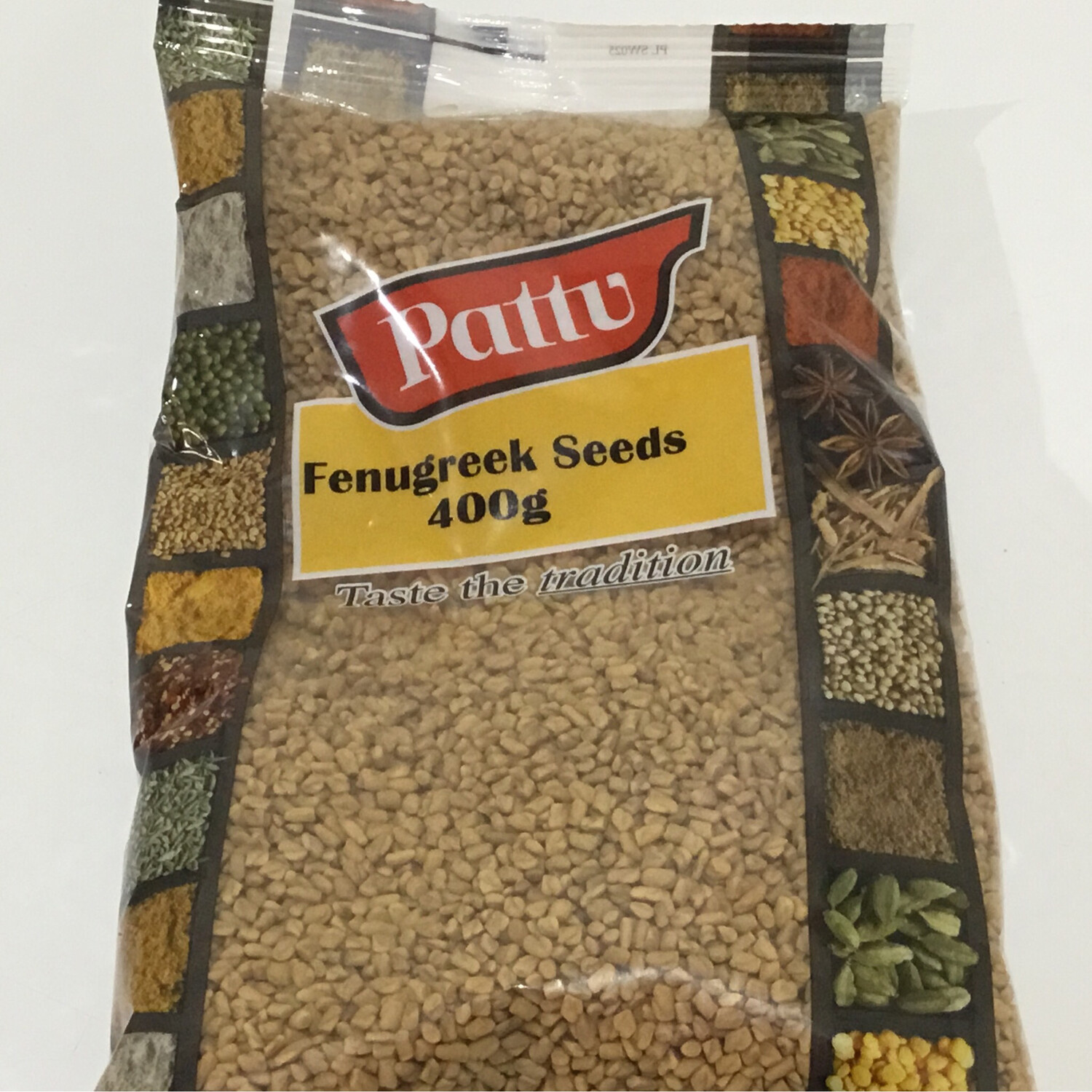PATTU FENUGREEK SEEDS 400 G