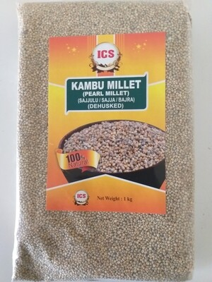 PEARL MILLET WHOLE (KAMBU) 1 KG