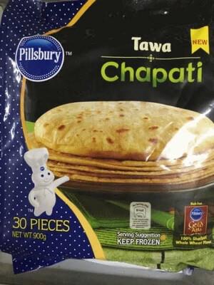 PILSBURY TAWA CHAPATHI 30 PCS