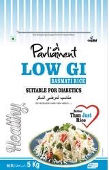 PARLIAMENT LOW GI BASMATI RICE 5 KG