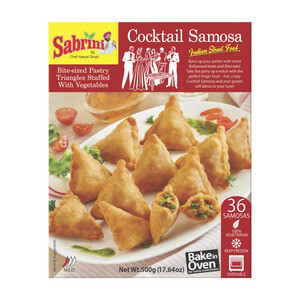 SABRINI COCKTAIL SAMOSAS (36 PIECES)
