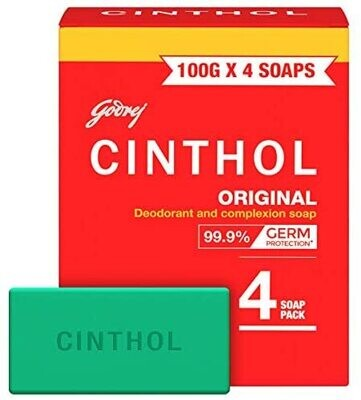 CINTHOL RED SOAP (4 PACK)