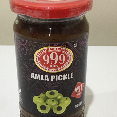 999 PLUS AMLA PICKLE 300 G BUY1 GET 1