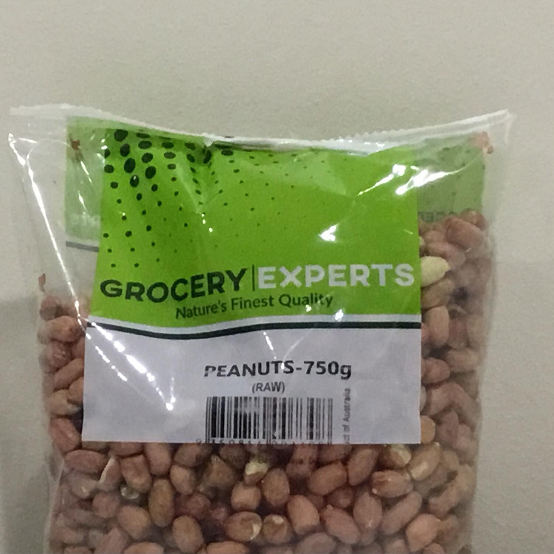 AMMAS GROCERY EXPERTS PEANUTS RAW 750 G