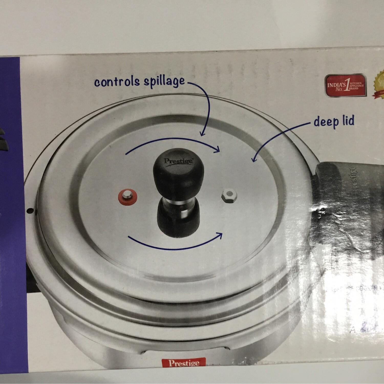 PRESTIGE STEEL PRESSURE COOKER 2 LTR