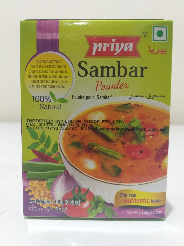 PRIYA SAMBHAR POWDER 100G