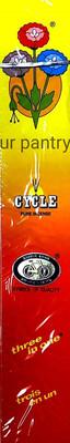 CYCLE AGARBATTI (INCENSE STICKS) 100 STICKS [INCLUDES MATCH BOX]