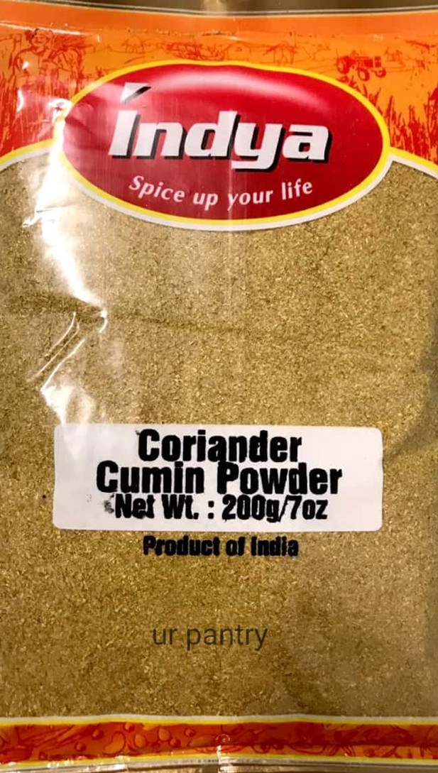 INDYA CORIANDER CUMIN POWDER 200GM