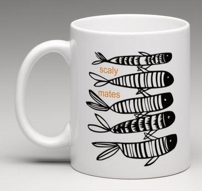 Scaly mates - china mug