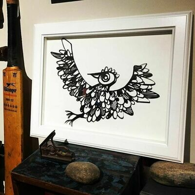 Spirit Bird paper cutting