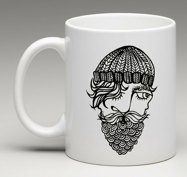 Captain Fjord - china mug
