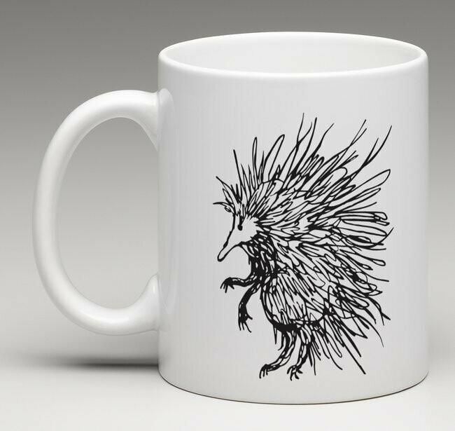 Spike Australian Echidna- china mug