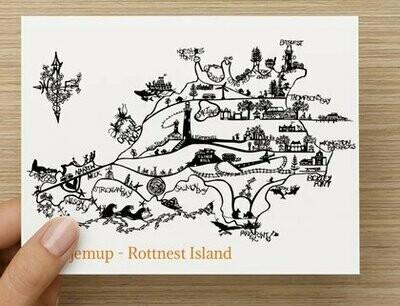 'Wadjemup' Rottnest Island GREETING CARD
