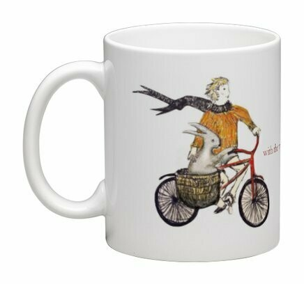 'With the wind in his hare' -  MUG