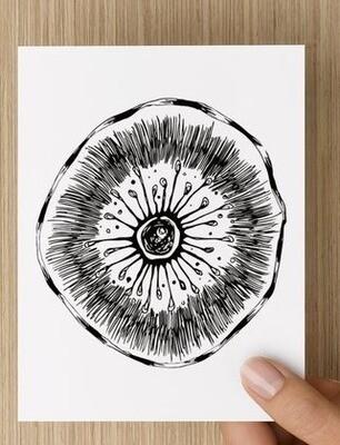 'Bush Sprite' -  GREETING CARD