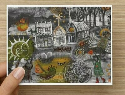 'Many Stories to Tell' -  GREETING CARD
