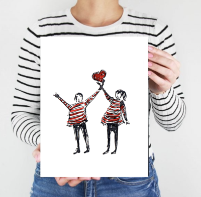 You Lift My Heart - Archive PRINT