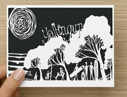 Yallingup place of love -  GREETING CARD