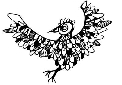Spirit Bird archive PRINT
