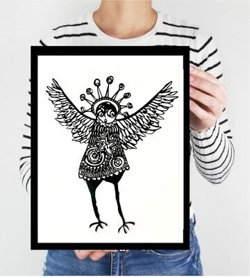Spirit Owl  archive PRINT