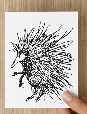 Spike - Australian Echidna GREETING CARD