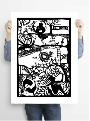 Live Your Love archive PRINT