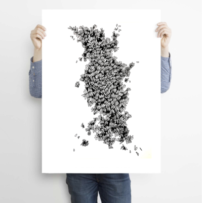 Wasp Nest- Limited Edition archive PRINT