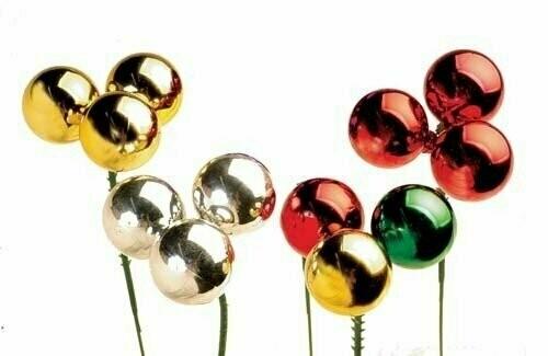 PLX3030GLD - 30mm Plastic Ball Pick x 3