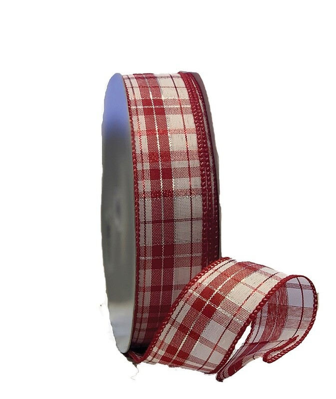 ​JOYFUL09 - #9 plaid red/white